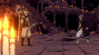 Natsu Dragneel Confronts Byro Cracy