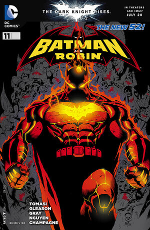 Cover for Batman and Robin #11