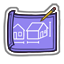 Purple Blueprint-icon