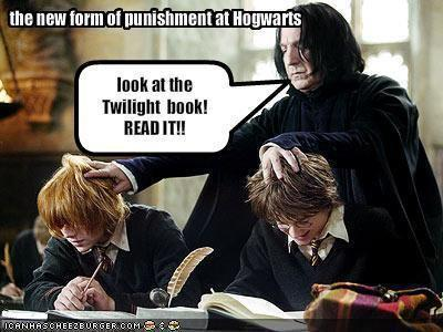 Harry Potter Punishment