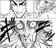 Toriko getting out of the Healing Jelly