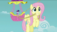 Fluttershy with a rope S2E02