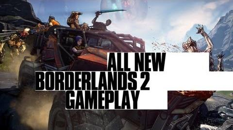 Borderlands 2 - All new gameplay Sanctuary, more Claptrap and Tiny Tina