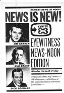 KYW-TV&#39;s Channel 3 Eyewitness News&#39; Noon Edition&#39;s News Is New! Video Promo For 1961