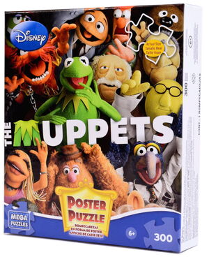 Mega brands muppets poster puzzle