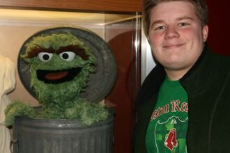 Me with Oscar the Grouch