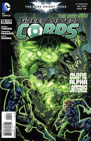 Cover for Green Lantern Corps #11