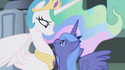 Luna accepting Celestia's friendship S1E02
