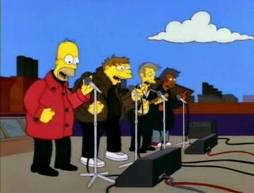 Capitulo Los Simpson - Los Borbotones
