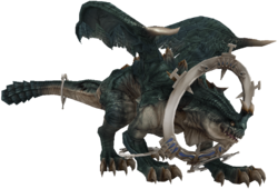 XII ring wyrm render