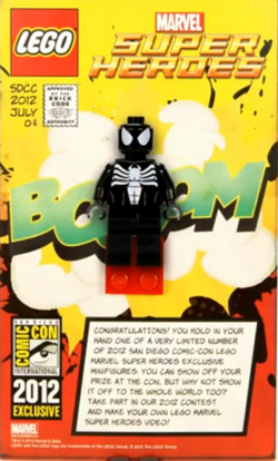 Comic-Con Exclusive Black Suit Spider-Man Giveaway