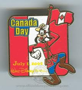 Canada Day Pin