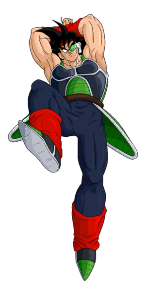 Bardock Knock Down by dbzataricommunity