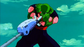 Piccolo is getting attacked