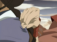 Ty Lee blocking Katara&#39;s chi