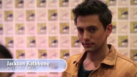 The Twilight Saga Breaking Dawn - Part 2 (2012) Comic-Con Interviews