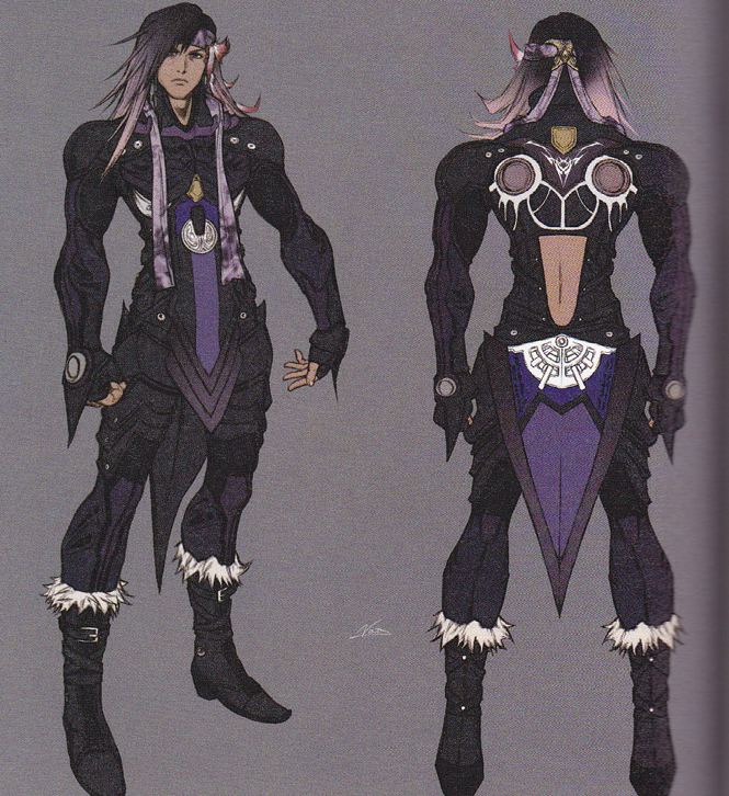 Caius's concept art [courtesy of the FF Wiki]