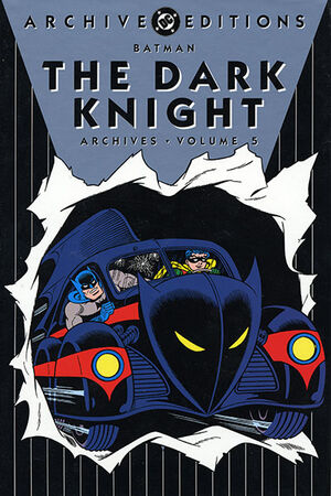 Cover for Batman: Dark Knight Archives #5