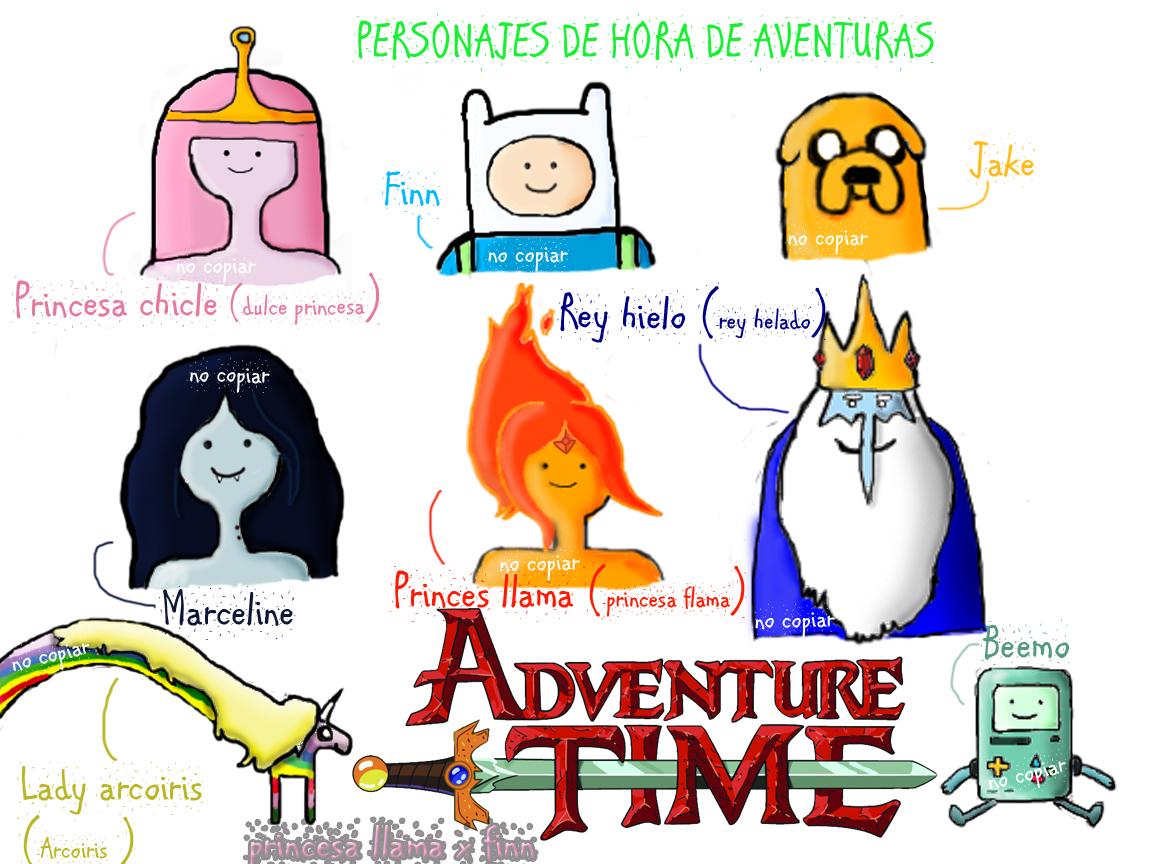 La princesa flama & Finn - Hora de Aventura♥ [La