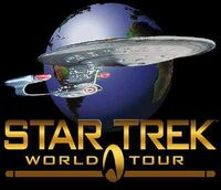 Star Trek World Tour logo