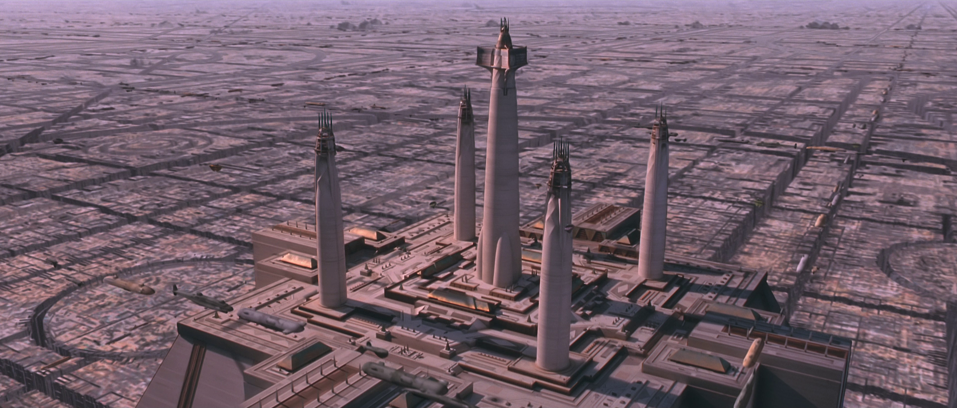 The Jedi Temple on Coruscant