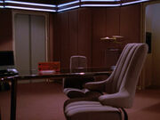 USS Enterprise-D ready room