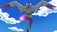 EP733 Mienshao Domon usando patada salto alta