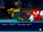 Knuckles sonic colors