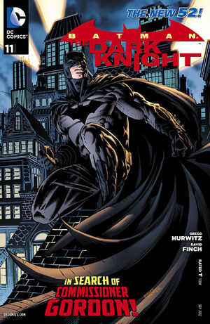 Cover for Batman: The Dark Knight #11
