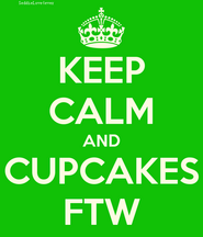KEEP CALM RUNTHE CUPCAKES RDAY