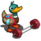 Weightlifting Duck-icon