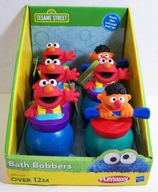 Playskool 2012 sesame street bath bobbers
