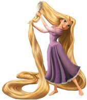 Rapunzel brush