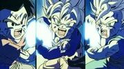 Krilin,goten y trunks vs bio