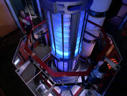 Galaxy warp core elevated view