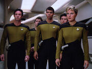 Starfleet security team, 2364