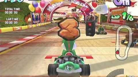 Mario Kart Arcade GP Gameplay