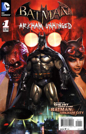 Cover for Batman: Arkham Unhinged #1