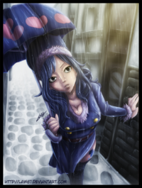 Juvia Rainy Day