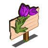 Purple Tulip Mastery Sign-icon