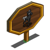 Black Foal Mastery Sign-icon