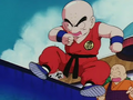 Krillin can fly