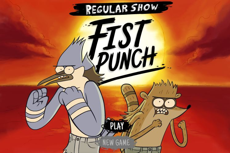 Fist punch regular show