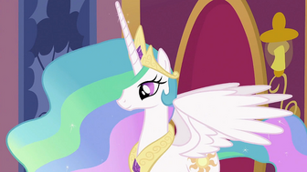 1000px-Princess Celestia waiting S2E02-1-