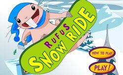 Rufus Snowride Game