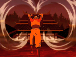 Aang inhales