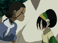 Toph and Katara