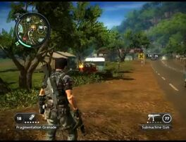 Just Cause 2 - Pekan Gua Cina - civilian village 01