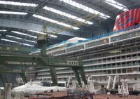 2011-08-26 Papenburg Meyer Werft Disney Fantasy