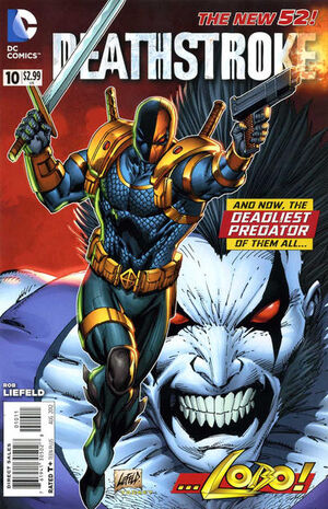 Cover for Deathstroke #10